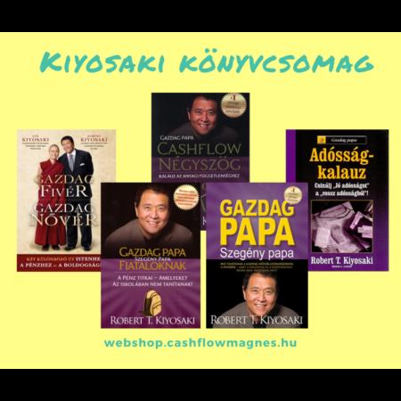 Robert T. Kiyosaki könyvcsomag