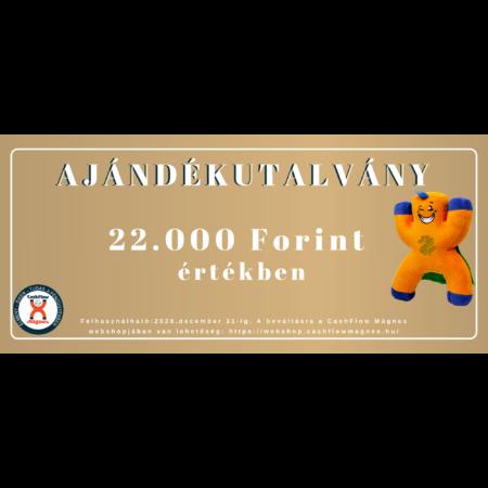 22000 Forintos ajándékutalvány